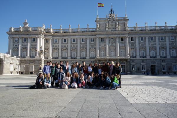 Schüleraustausch mit Spanien: Unser Gegenbesuch in Madrid