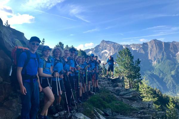 P-Seminar Alpencross 2019