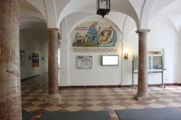 Walther von der Vogelweide zu Gast im Kloster Tegernsee