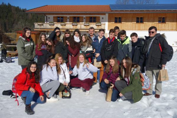 Besuch unserer Partnerschule aus Leganés, Spanien