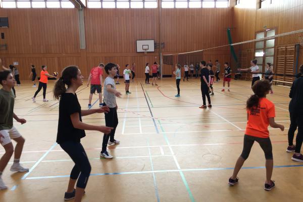 Volleyballturnier der Mittelstufe