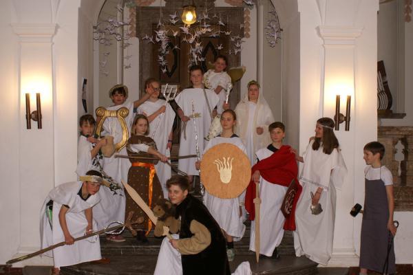 Götter am Tegernseer Gymnasium